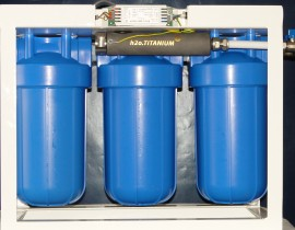 h2o TITANIUM™ UPA – Water purification units based on TIO2